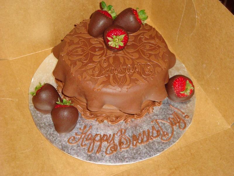 Chocolate fondant/ Chocolate covered strawberries
